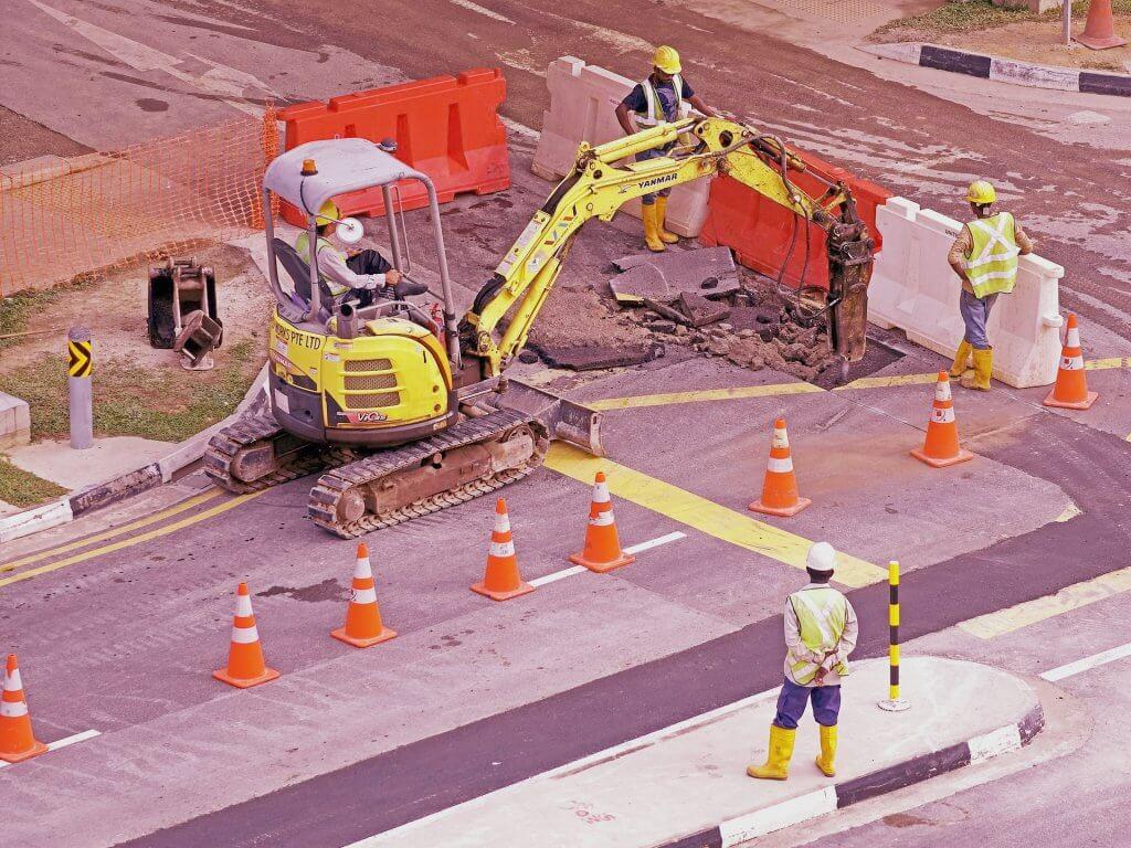 Veilig werken langs de weg & Code 95